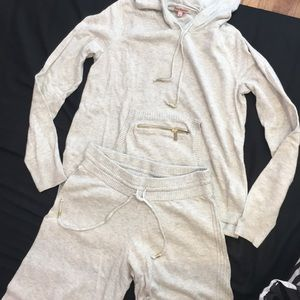NEW JUICY COUTURE CASHMERE TRACKSUIT SIZE SMALL